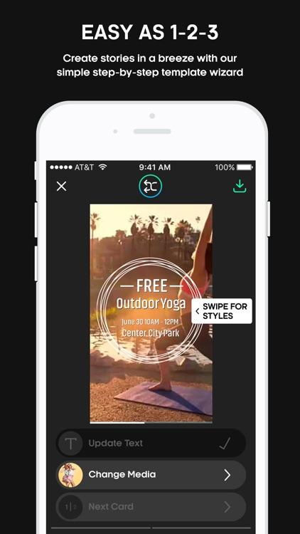 Flyr - Create Video Stories in Seconds! screenshot-0