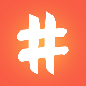 Hot Hashtags for Instagram, Facebook & Twitter Reference app