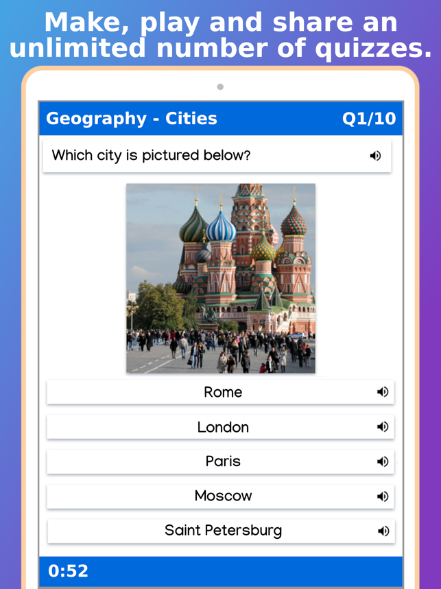 Topgrade Quiz Maker Screenshot