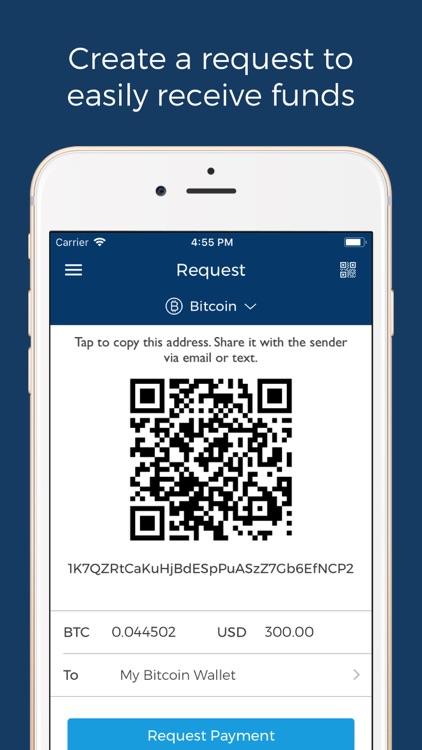 Blockchain Wallet: Bitcoin screenshot-4