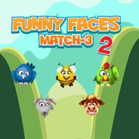 Animal Funny Face pair Touch 2 - Fun Games