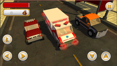 Crazy Kids Car Racing screenshot one
