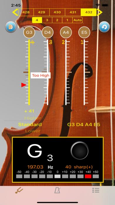 바이올린 튜너 - Tuner for Violin for Windows