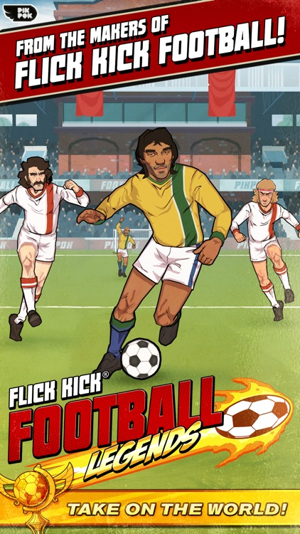 Flick Kick Football Legends screenshot-0