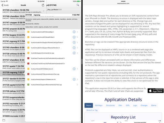 SVN Repo Browser Pro | App Price Drops