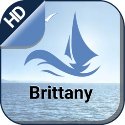 Brittany boating nautical offline sailing charts