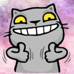 Wild Pussy Cat Stickers