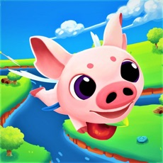 Activities of Juju Pig- Fly & Chase of Apple
