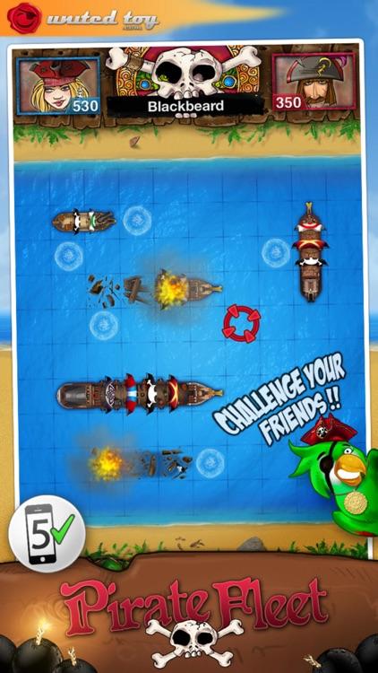 PirateFleet - the famous battleship like game