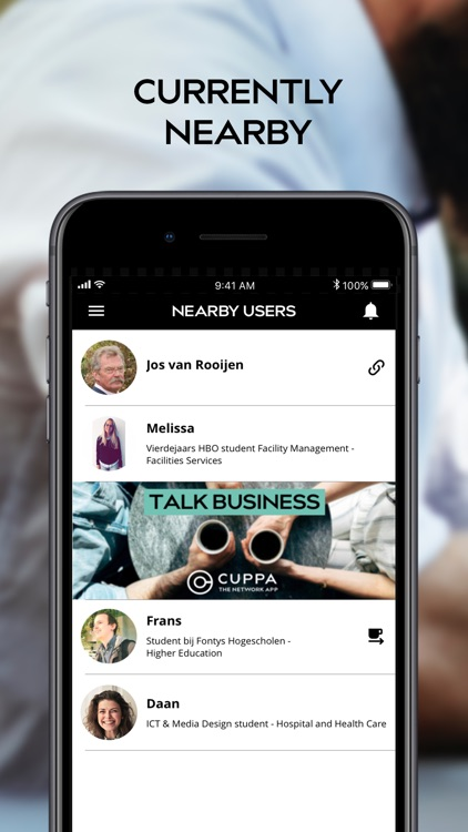 Cuppa - The Network App