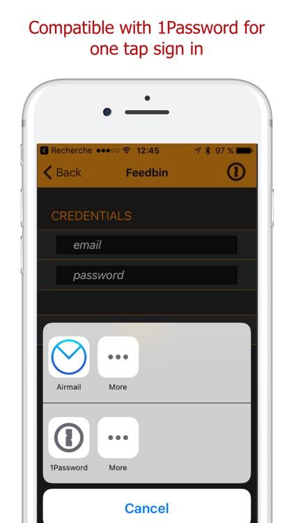 Add My Feed - RSS Atom JSON screenshot-4