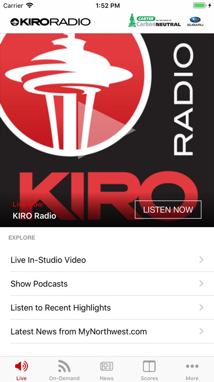 KIRO Radio 97.3 FM screenshot-0