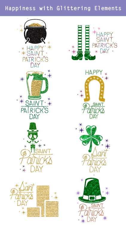 Glittering St. Patrick's Day screenshot-2