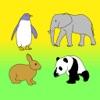 動く動物園のぬり絵 (塗り絵)・お絵かき - iPhoneアプリ