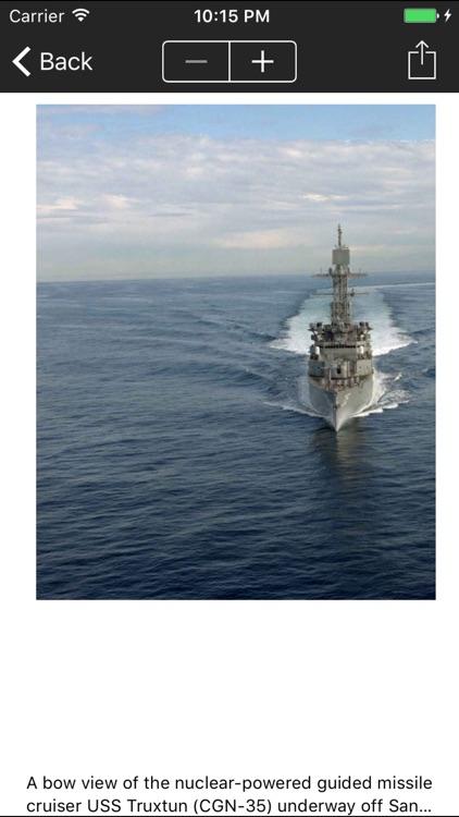 Cruisers of the US Navy screenshot-3