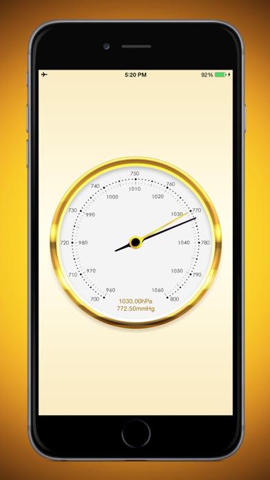 気圧計のおすすめ画像3