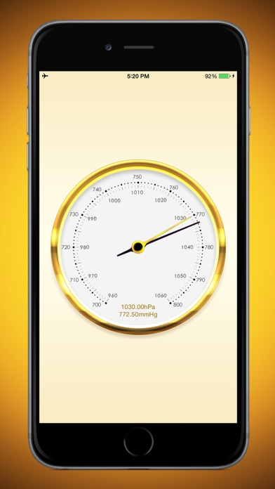 気圧計 screenshot1