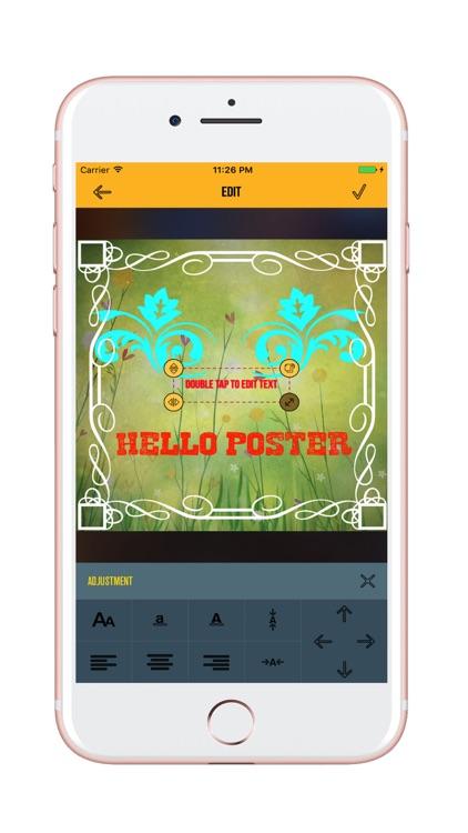 Poster Designer & Poster Maker, Ad & Flyer Design screenshot-4
