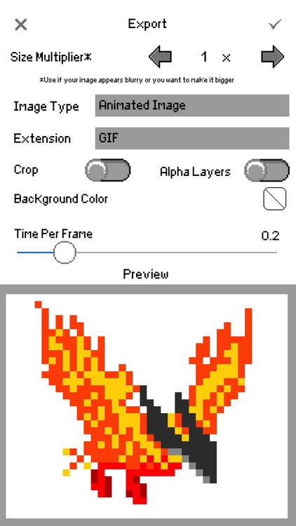 Sprite Creator - Pixel Art Maker screenshot-3