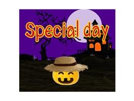 Pumpkin For Halloween Stickers