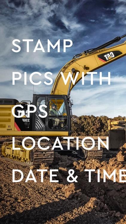 Timestamp - GPS Field Camera