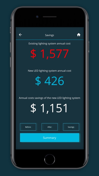 LED Lighting Energy Calculator screenshot-4