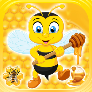 Flying Bee Honey Action Game app