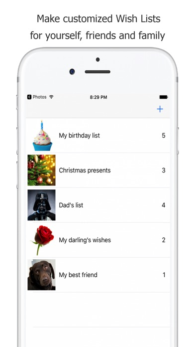 Wish List Creator By Tom Janssen IOS United States