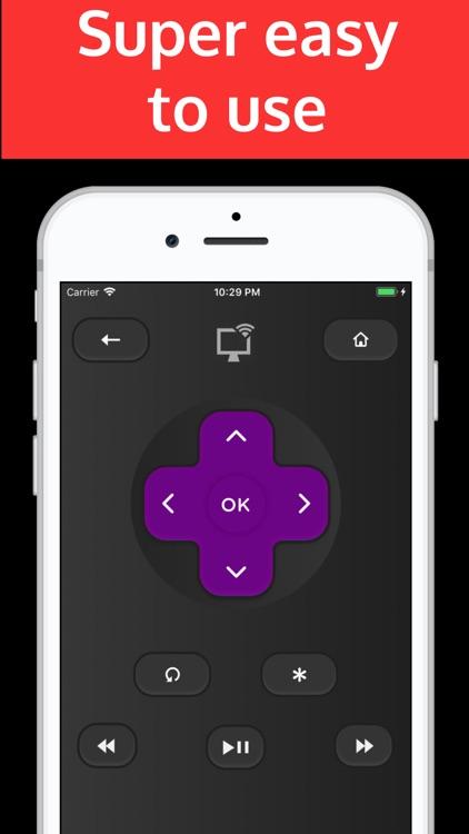 Rokumotee - remote for Roku screenshot-3