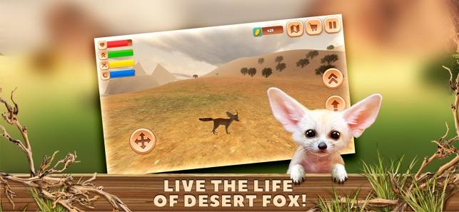 Fennec fox simulator 3d on the app store - Pagina da colorare fennec fox ...