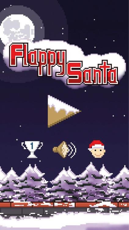 Flappy Santa screenshot-3