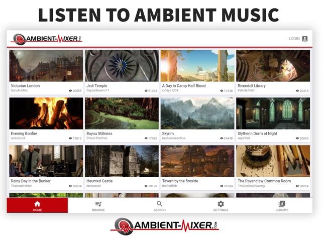 56fb002b1eadb  Ambient Mixer Music on the App Store