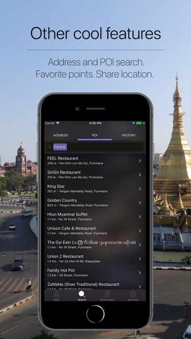 Screenshot for Myanmar Offline Navigation in Denmark App Store