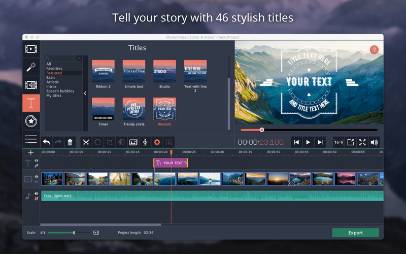 Movavi - Video Editor & Maker Screenshots