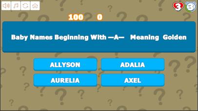 Quiz AtoD Baby Names screenshot 2