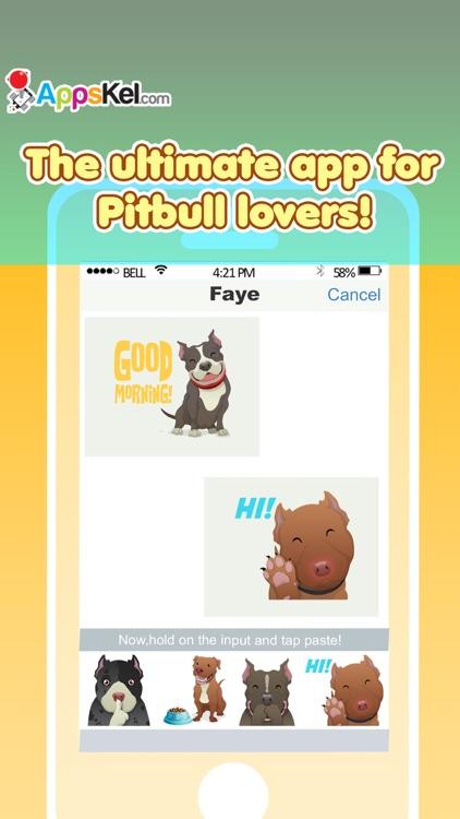 Pit-Bull Emoji Pro