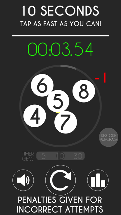 10 Seconds - Tap as fast as you can! screenshot three
