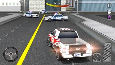 市パトカーの追跡3Dのおすすめ画像4