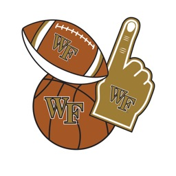 WakeForest Demon Deacons Selfie Stickers