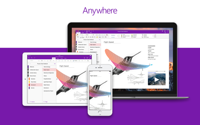 Microsoft OneNote on the Mac App Store