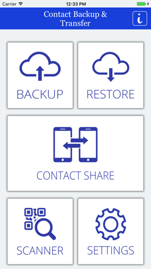 Contact Backup & Transfer on the App Store