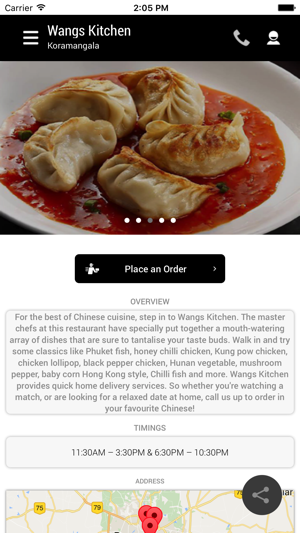 Wangs Kitchen on the App Store