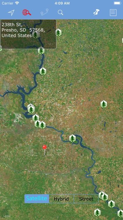 South Dakota State Parks map!