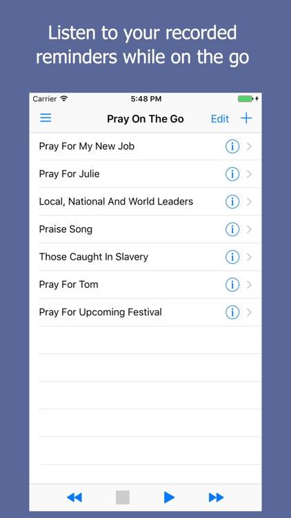 Pray On The Go