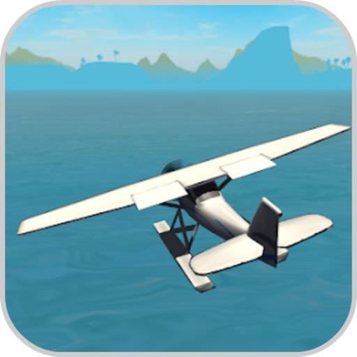Flying Sea Stunts 3D icon