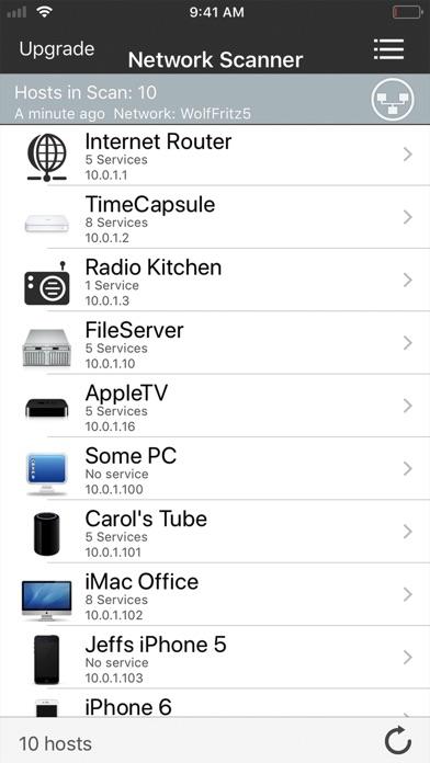 iNet - Network Scanner Screenshots