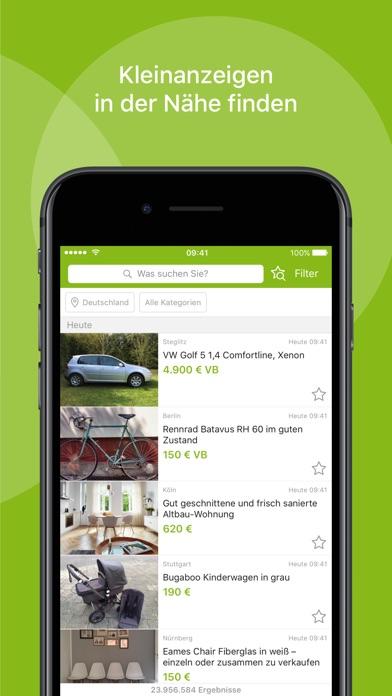 ebay kleinanzeigen app voor iphone ipad en ipod touch appwereld. Black Bedroom Furniture Sets. Home Design Ideas