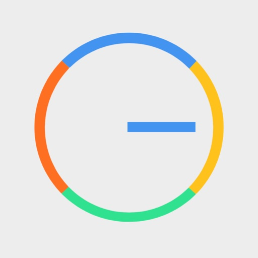 Crazy Wheel Simple iOS App