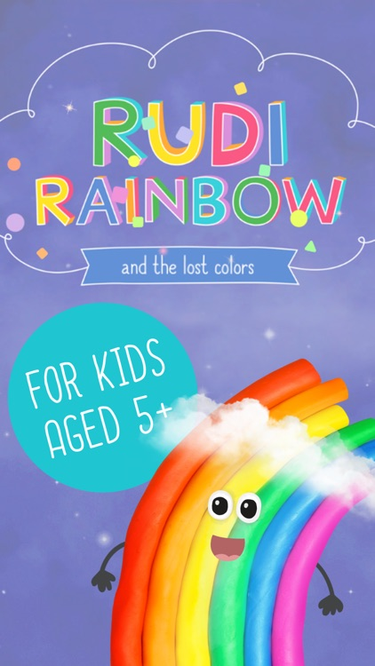 Rudi Rainbow – Children's Book screenshot-0