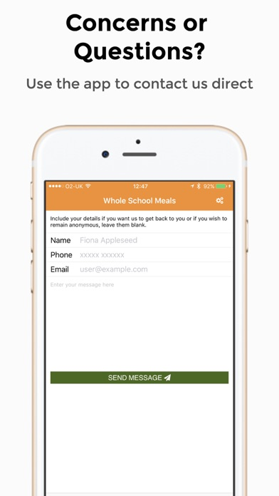 Whole School Meals screenshot three